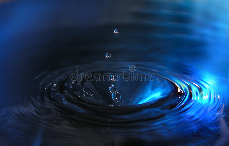 Water drops royalty free stock photos