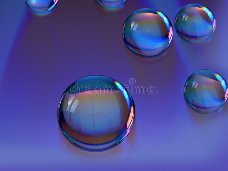 Download Water Drops stock photo. Image of drops, droplets, water - 17295286