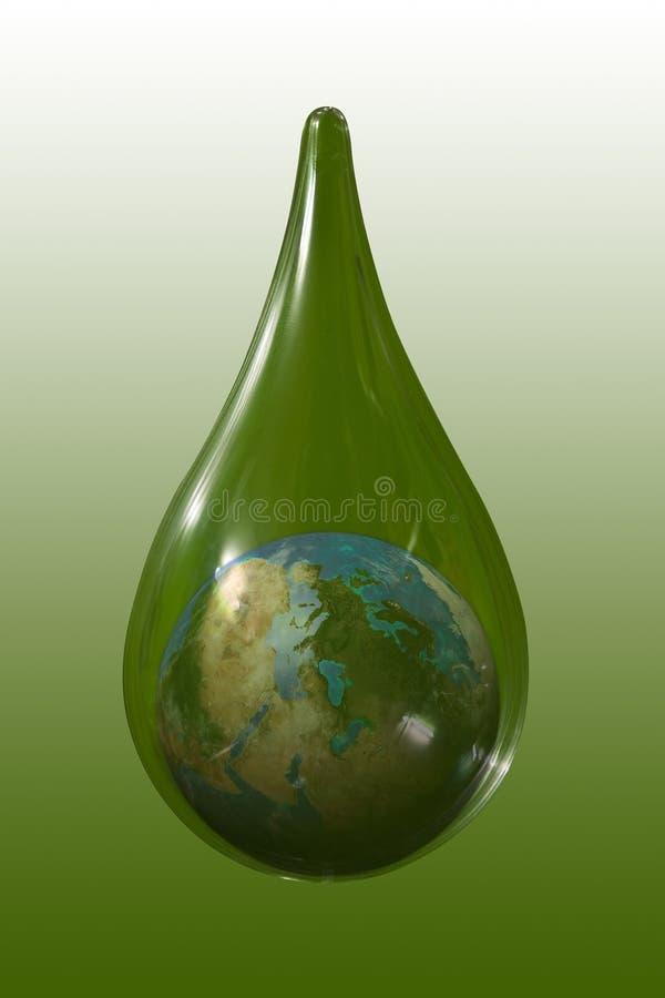 Water Drops Royalty Free Stock Photo