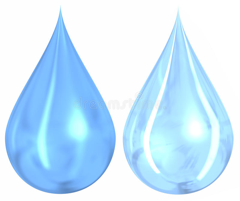 Download Water Drops stock illustration. Image of tear, liquid - 18178669