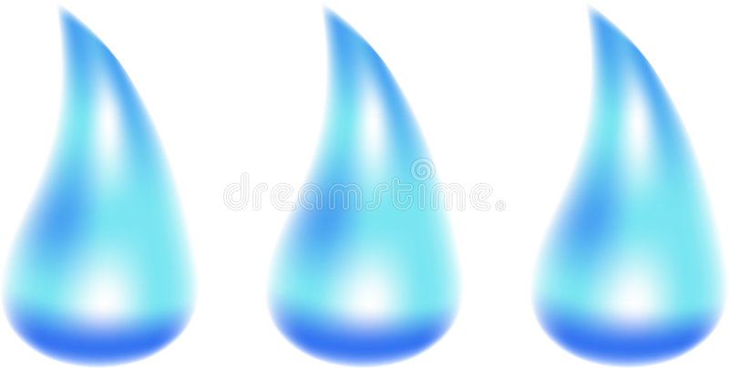 Water Drops. Stock Images