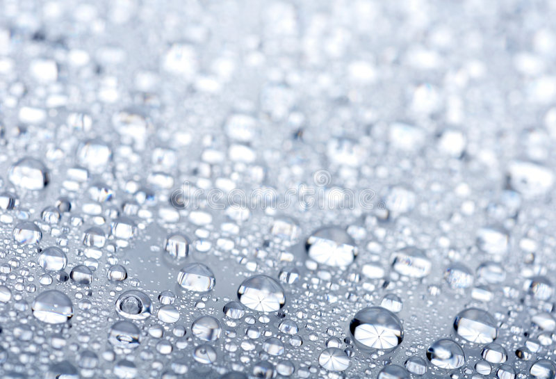 Water Drops Background Royalty Free Stock Images