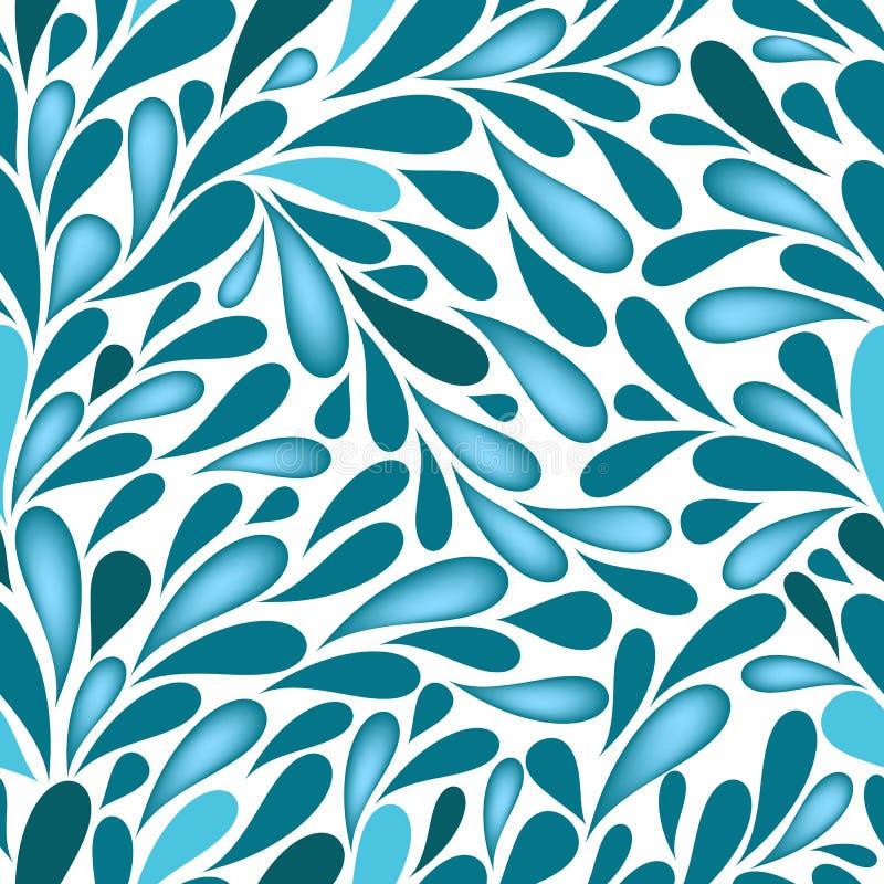 Free Water Drops Repeating Wallpaper Royalty Free Stock Photos - 21112548