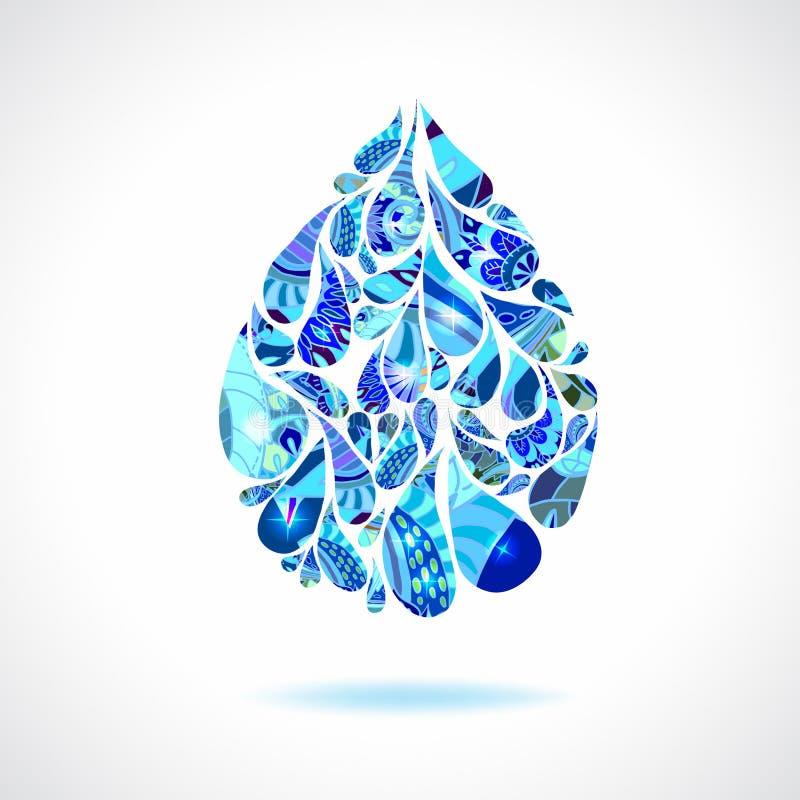 Water Drops Stock Vector