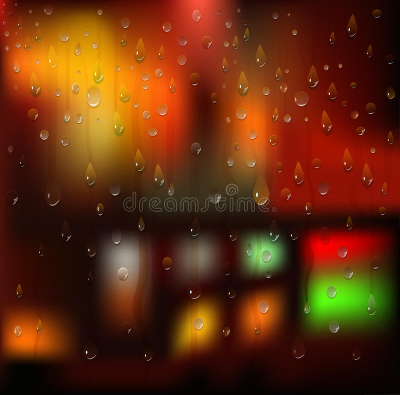 Download Water Drops. Vector Background Royalty Free Stock Image - Image: 27375026