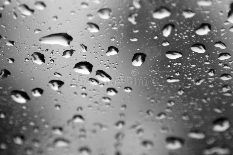Download Water Drops On A Window stock photo. Image of close, shower - 2618686