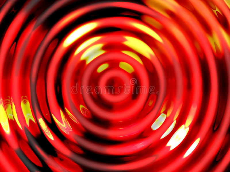 Water effect background , Colorful water resonance royalty free illustration