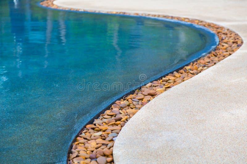 Water en paraplu's stock fotografie