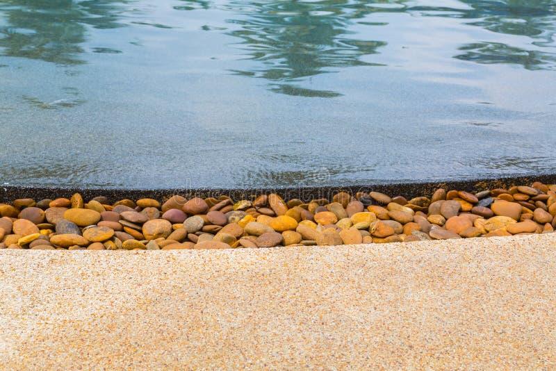 Water en paraplu's royalty-vrije stock afbeeldingen