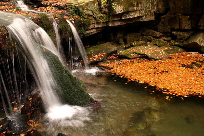 Water-fall Stock Image