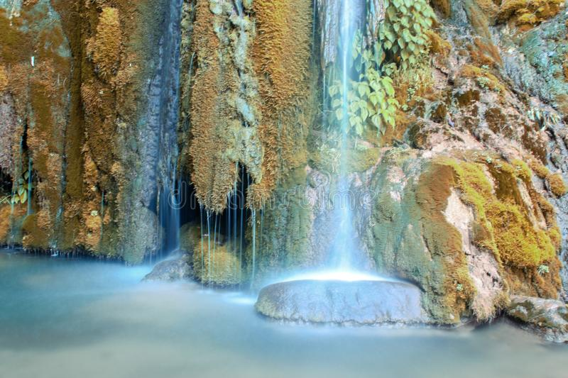 Water fall in azaad Kashmir Pakistan royalty free stock photography