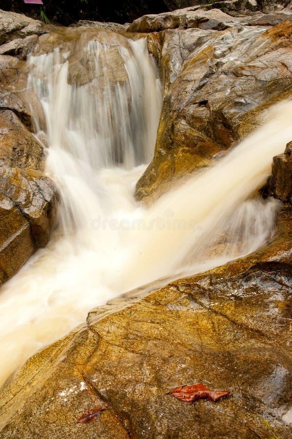Download Water fall at Phang-Nga stock photo. Image of environment - 20774990