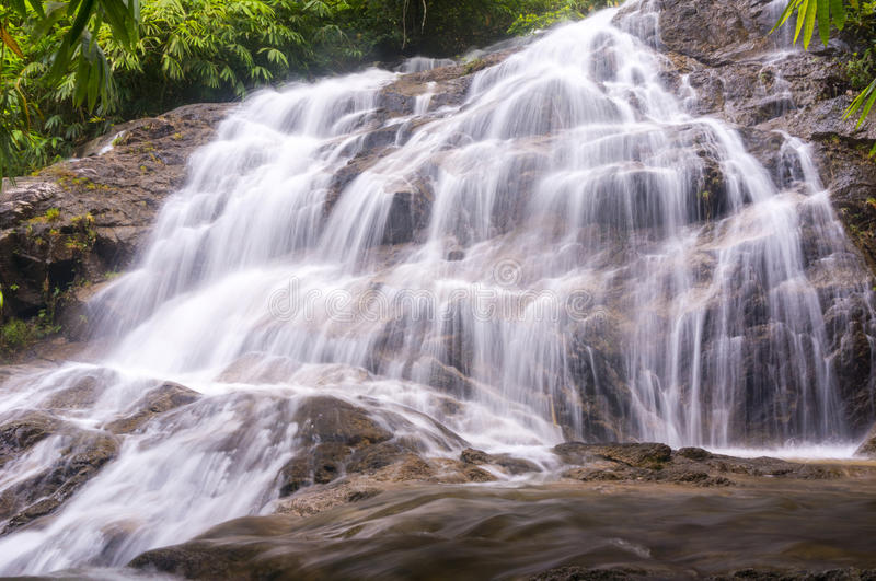 Water fall. Slow shutter , s, nature water fall stock photos