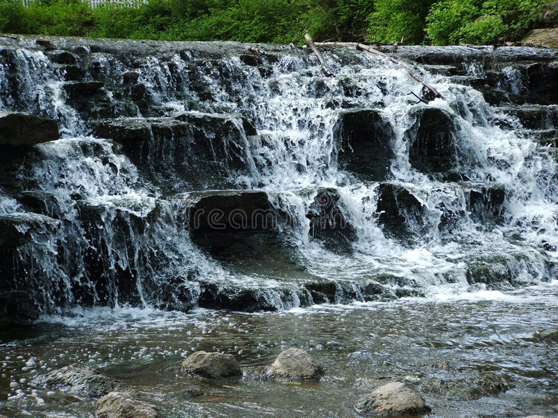Water Falling royalty free stock photo