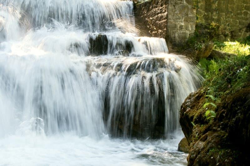 Download Water falling on rocks stock image. Image of landscape - 5710813