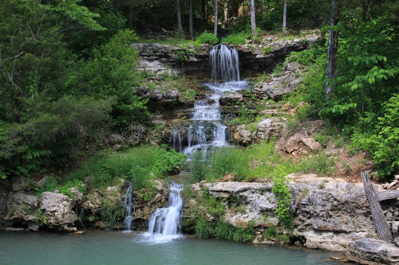 Water Falls. Beautiful water falls across our country stock photo