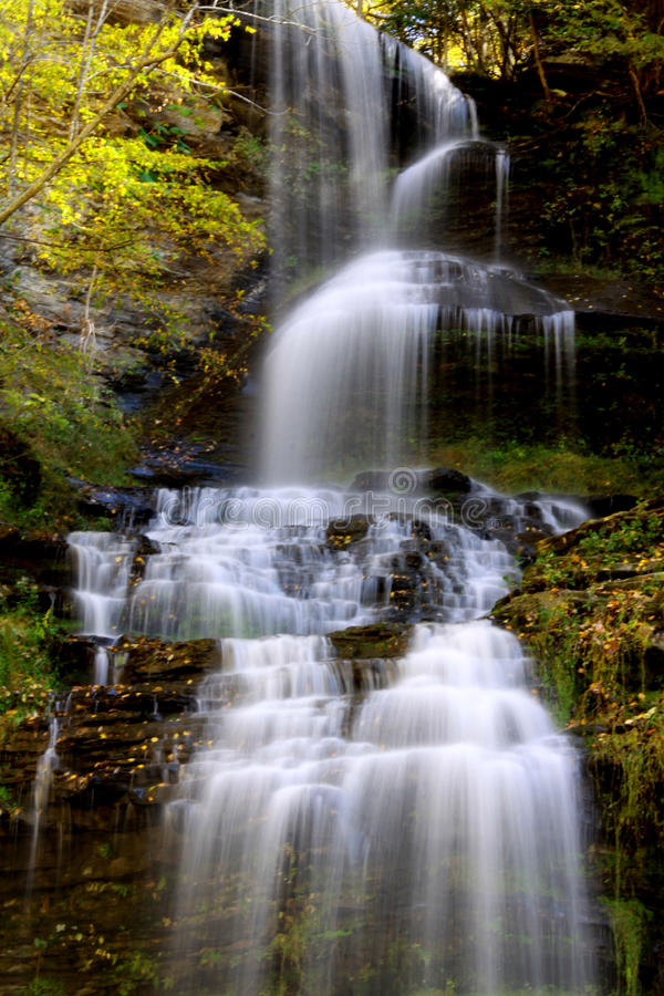 Free Water Falls In West Virginia Royalty Free Stock Image - 25815576