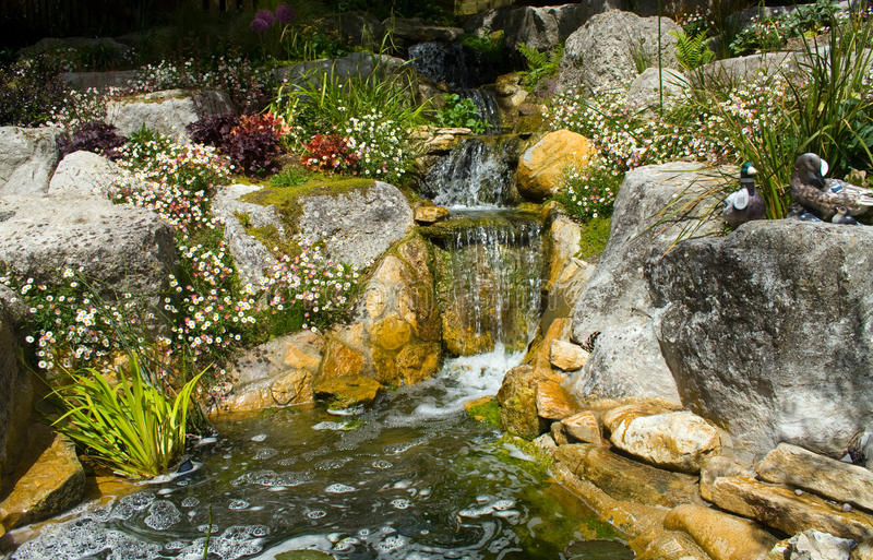 Download Water Feature stock photo. Image of garden, feature, spray - 21572410