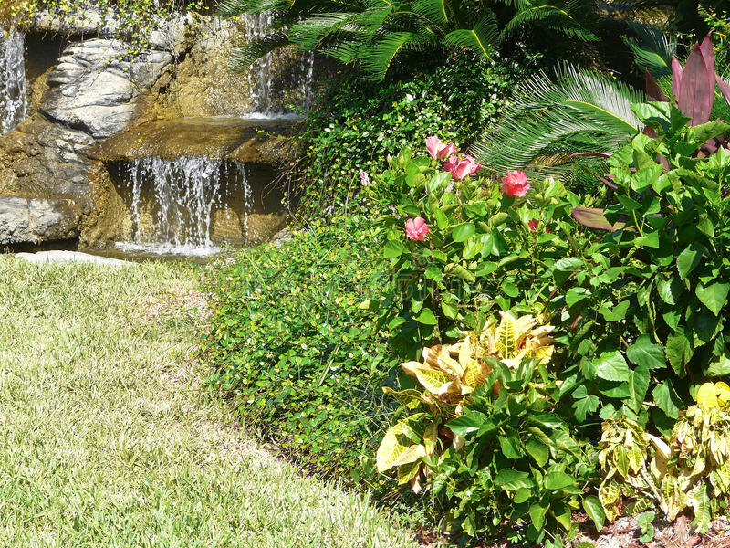 Download Water Feature Garden stock photo. Image of designs, feature - 16272374