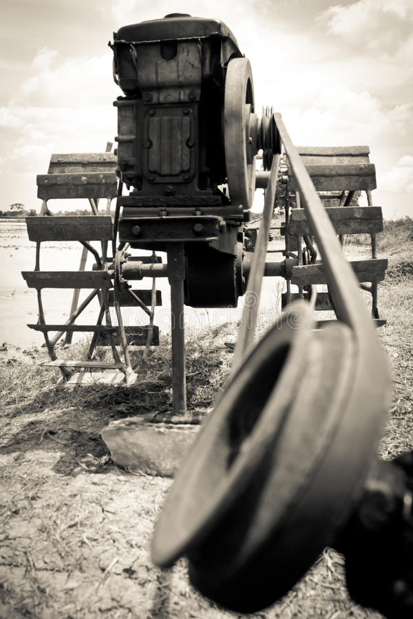 Download Water feed pump stock photo. Image of outside, machinery - 37642560