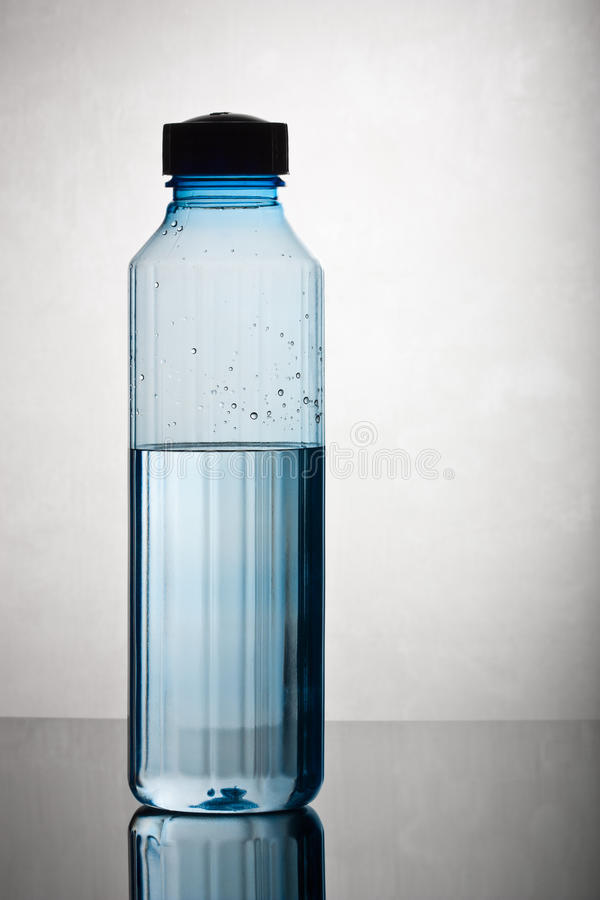 Water Filled Bottle Stock Image Image Of Water Clean