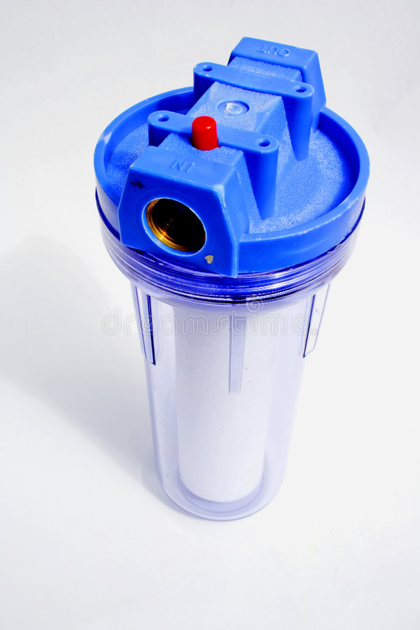 Water filter stock photography