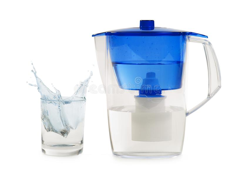 Water Filter For Cleaning And Health Isolated Stock Image