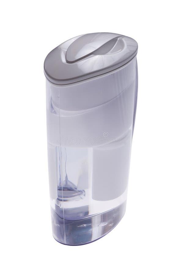 Water filter macro royalty free stock photo