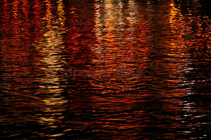 Water on Fire Red and Yellows royalty free stock image