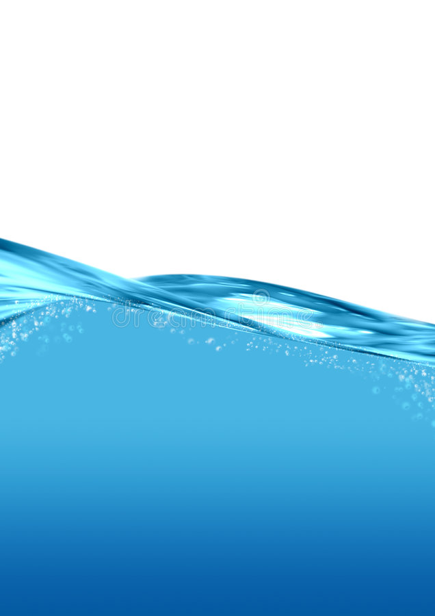Water flow. With blank area for your text stock illustration