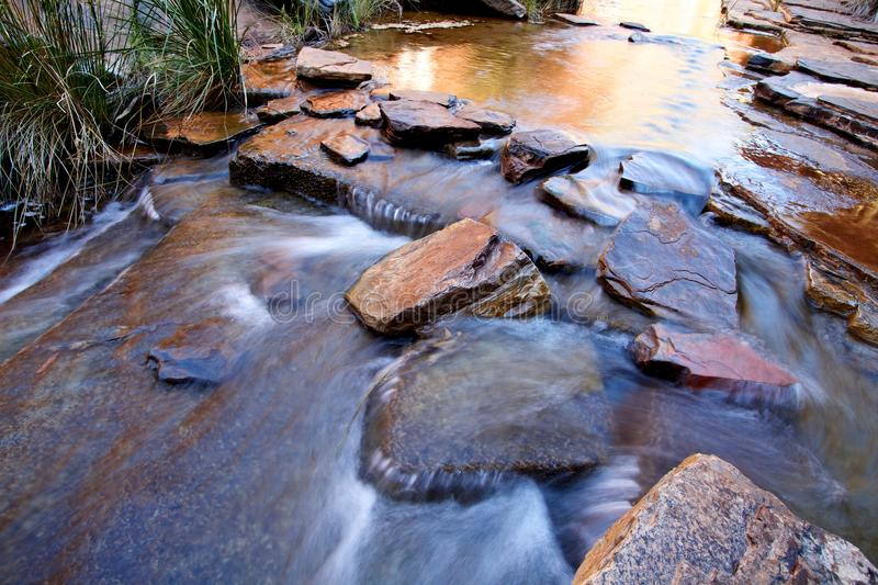 Download Water Flowing Over Boulders Royalty Free Stock Image - Image: 26835336