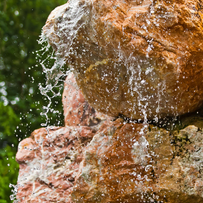 Download Water Flowing Over Rocks Closeup Stock Photo - Image of wave, liquid: 33000616