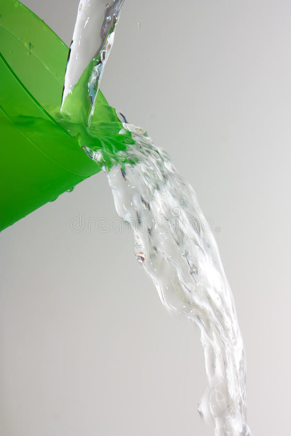 Download Water Flows From The Glass Royalty Free Stock Image - Image: 14168686
