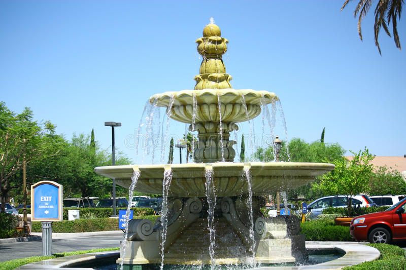 Water Fountain. Made of marbel royalty free stock images