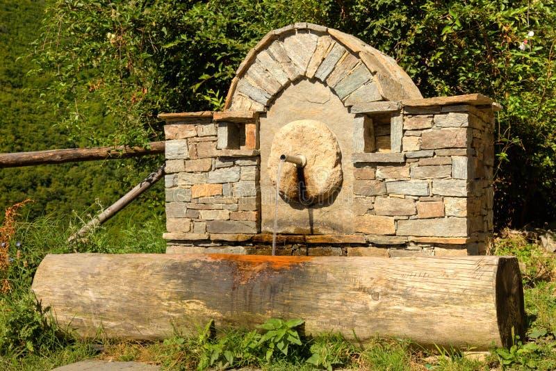 Water Fountain in Kovachevitsa stock photos