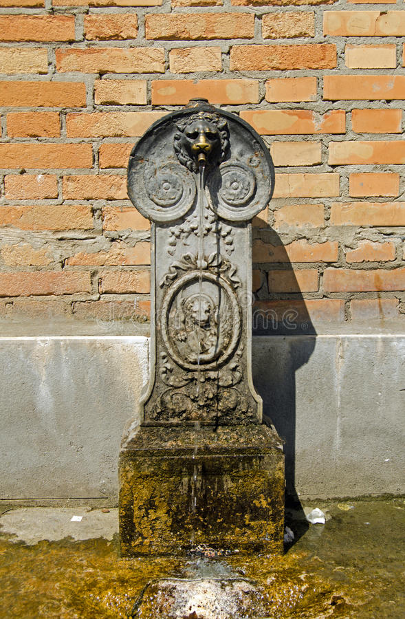 Download Water fountain, Venice stock image. Image of puddle, exterior - 34564293