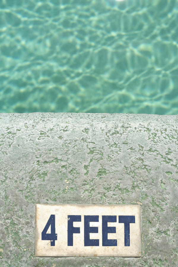 Download Water Four Feet Deep Swimming Pool Background Stock Image - Image: 14294729