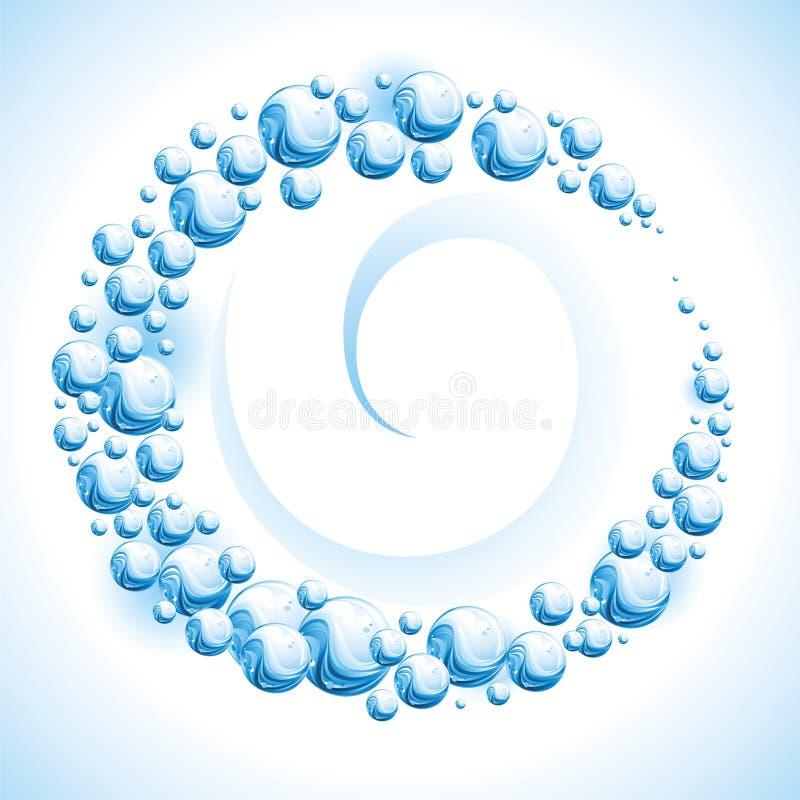Free Water Frame. Drop Stock Photo - 13853010