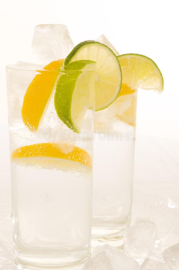 Download Water with fresh lemon stock image. Image of fresh, flavor - 6638401