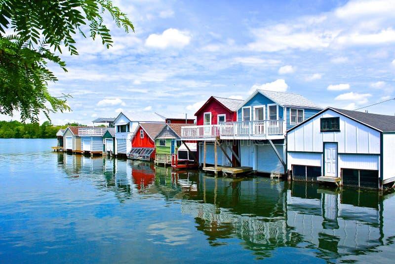 Canandaigua Pier stock photo