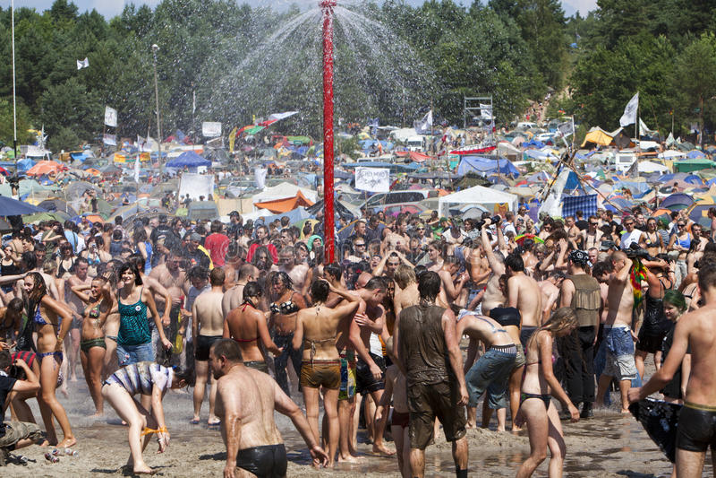 Download Water fun editorial photo. Image of music, sprinkler - 15978271