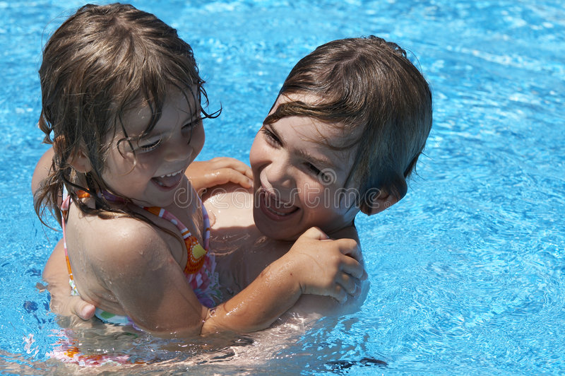 Download Water fun stock image. Image of happy, expressions, smile - 5267361