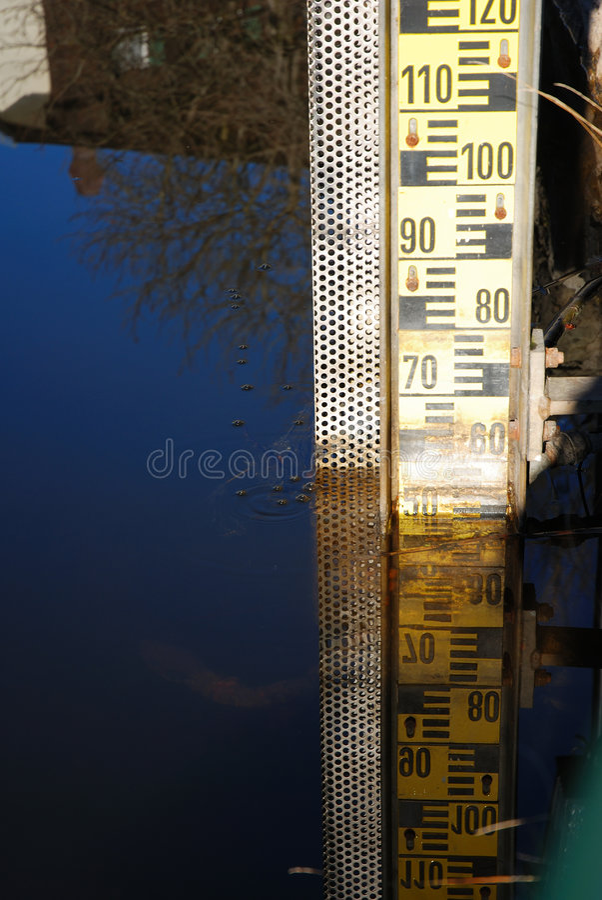 Free Water-gauge Royalty Free Stock Photo - 1670315