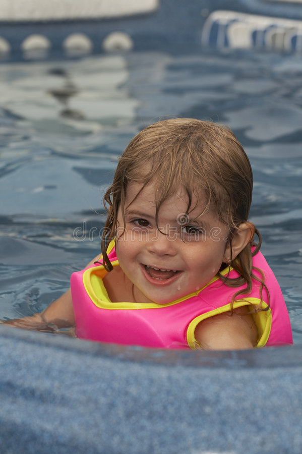 Water girl royalty free stock photos