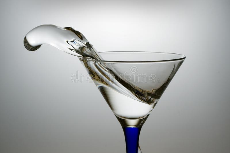 Water and glass royalty free stock photography