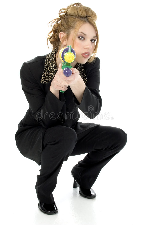 Water Gun stock image