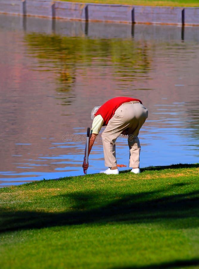Water Hazard royalty free stock image