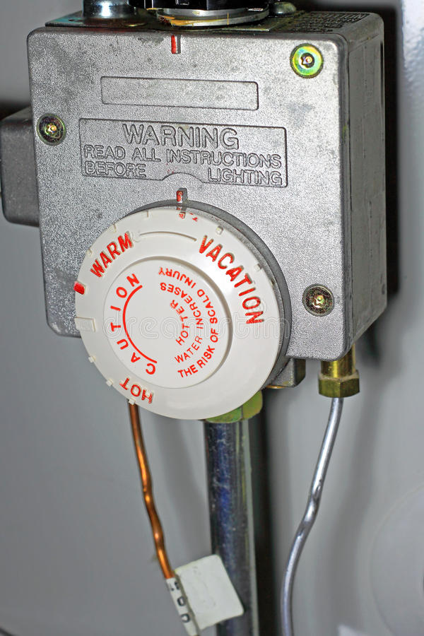 Water Heater Control Energy Saving stock photos