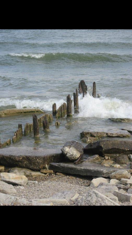 Water, Hemel en Wolken royalty-vrije stock fotografie