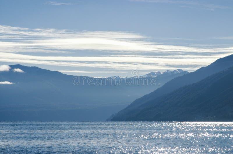 Water in het meer royalty-vrije stock fotografie
